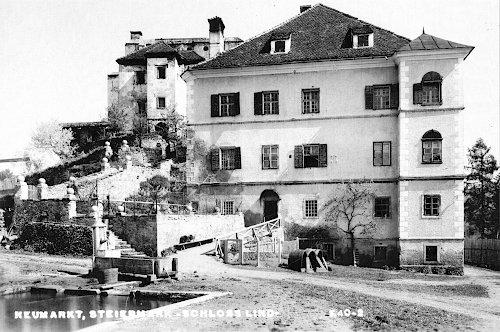 Schloss Lind in der Steiermark 1972